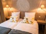 Chambre 1 (Etage) - Deux lits simples (draps fournis)