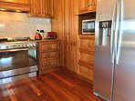 Jarrah floors throughout and luxury appliances are a chef's delight