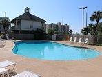 Condo bay side pool