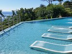 the inviting lap pool. Swim or lounge with massaging jets
