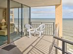 Hang loose on the shores of South Carolina when you stay at this 3-bedroom, 3-bathroom vacation rental condo in...