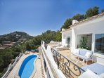 4 bedroom Villa in Andratx, Balearic Islands, Spain : ref 5455450