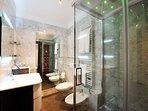 Bathroom with modern shower