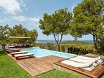 5 bedroom Villa in Cala Gracio, Balearic Islands, Spain : ref 5386500