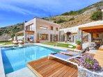 3 bedroom Villa in Pollyrinia, Crete, Greece : ref 5364740
