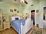 Master bedroom has queen bed and attached bathroom. (2nd floor)
