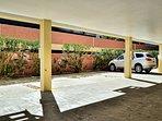 Assigned parking spot. (ground floor)
