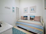 3rd Guest room has trundle bed with two twin beds. (2nd floor)