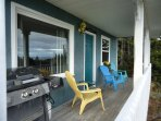 Cottage front deck