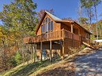 Head to the Smoky Mountains to stay at 'Misty Blue,' a vacation rental cabin!