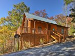 'Misty Blue' places you near Pigeon Forge, Sevierville and Gatlinburg!