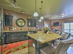 The chef in your group will have no trouble doing their job in this fully equipped kitchen.