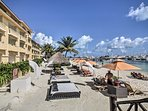 Work on your tan or play in the sand!