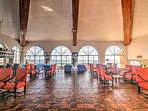 You'll have access to complimentary wireless internet from the resort lobby.
