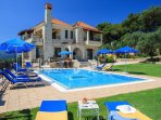 5 bedroom Villa in Kallithea, Crete, Greece : ref 5217992