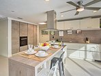 This state-of-the-art kitchen will inspire you to whip up inspired treats!