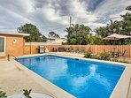 Enjoy the fence around the pool for additional privacy to your home-away-from-home.