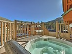 After a day on the slopes, soak all your sore muscles in the community hot tub.
