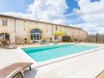 4 bedroom Villa in Saint-Avit-Saint-Nazaire, Nouvelle-Aquitaine, France : ref 50