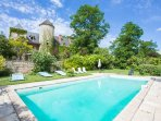 7 bedroom Chateau in Cazoulès, Nouvelle-Aquitaine, France : ref 5049623