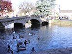 Venice of the Cotswolds. Bourton on the Water.