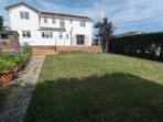 Private Garden with patio furniture & BBQ