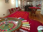 We offer a professional croupier service to give a casino night experience.