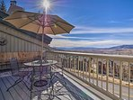 Elevate your next mountain town experience with this 3-bedroom, 2-bathroom Steamboat Springs vacation rental condo!