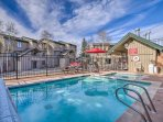 Decompress with a dip in the community pool or hot tub!