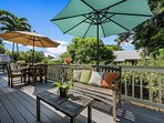 Relax in the sun or shade on the private lanai.