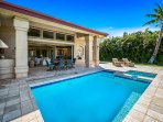 Luxury private pool and spa