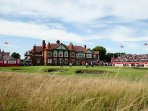 Ricoh Women's British Open golf at Royal Lytham St Annes in 2018. Just 5 minutes away