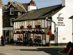 Choice of local pubs in Hawkshead