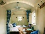 Inside sleeping area