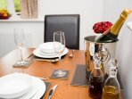 Enjoy a cosy dinner for two