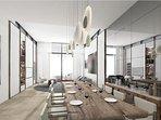 Nikki Beach Resort & Spa Dining With Living Room