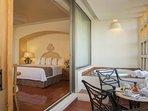Club Regina Puerto Vallarta Club Suite Bedroom and Balcony