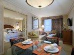 The Manhattan Club 1 Bedroom Living Area