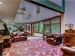 Vail Run Resort Lobby With Living