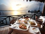The Royal Caribbean Resort Restaurant SunSet View