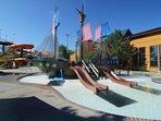 Polynesian Water Park Resort Water Park Double Queen