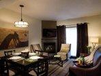 Grande Rockies Resort Dining Area