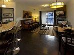Grande Rockies Resort Living Area