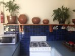 Fully equipped kitchen, juicer, coffee plunger, coffee etc  Full size fridge