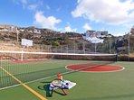 Tennis  - Basketball Court