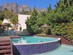 Communal main pool and gardens