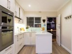 Fully equipped modern kitchen with high end integrated appliances