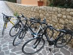 bikes for our guest at no extra cost