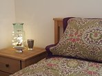 All our bedrooms have ensuite facilities and views of the hills or sea.