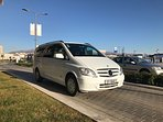 Our airport shuttle fleet, book with us!